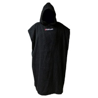 Northcore - Beach Basha Changing Robe in Black