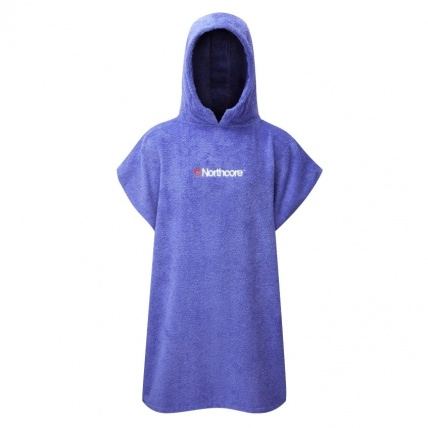 Northcore Beach Basha Changing Robe in Blue