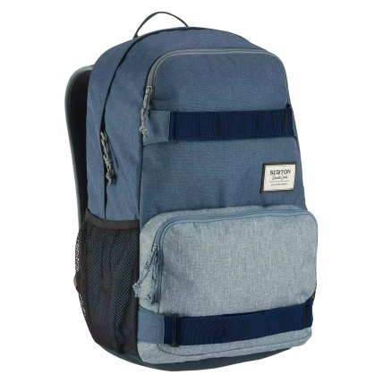 Burton Treble Yell Skate Backpack LA Sky Heather