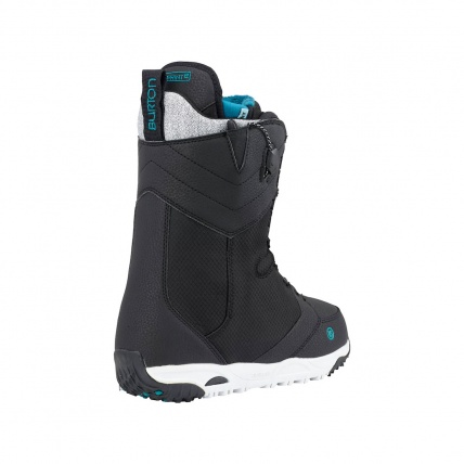 Burton Limelight Womens Snowboard Boots in Black back