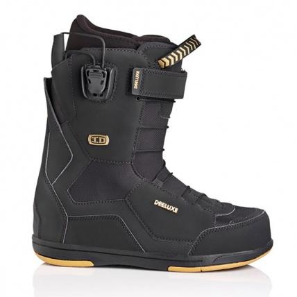 Deeluxe ID 6.3 PF Mens Snowboard Boots in Black
