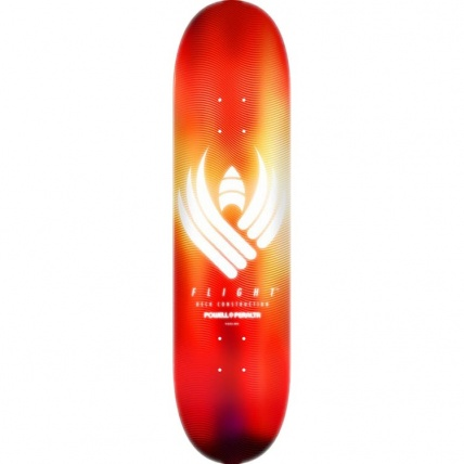 Flight 242 Carbon Deck 8.0 Orange Glow