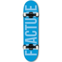 Fracture - Complete Skateboard Blue Fade 7.75