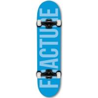 Fracture - Complete Skateboard Blue Fade