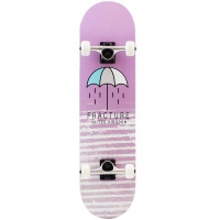 Fracture - Brolly Pink Complete Skateboard 7.75