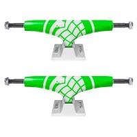 Thunder - Hi 147 Skate Crusher Trucks in Green