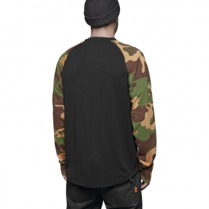 Thirty Two Ridelite Long Sleeve Base Layer in Camo back