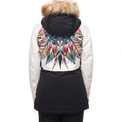 686 Womens Dream Insulated Jacket Tattoo Mandella back