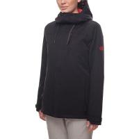686 - Eden Black Womens Insulated Snowboard Jacket