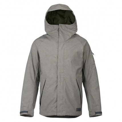 Burton Mens Hilltop Snowboard Jacket Shade Heather