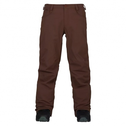 Burton Wolfeboro Mens Chestnut Snowboard Pant front