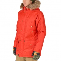Analog - Frazier Mens Snowboard Jacket in Jello Shot