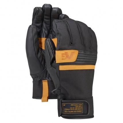 Analog Mens Diligent Snowboard Glove in True Black