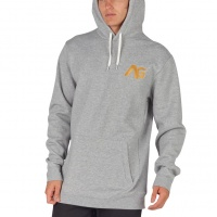 Analog - Crux Mens Grey Heather Snowboard Hoodie