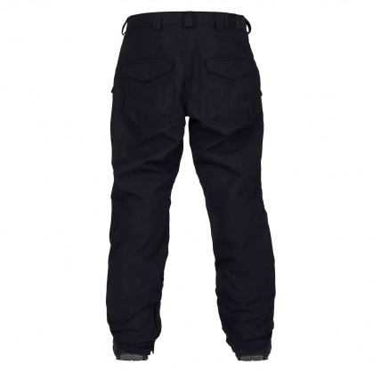 Analog Contract Snowboard Pant in True Black back