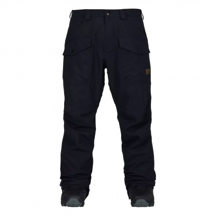 Analog Contract Snowboard Pant in True Black front