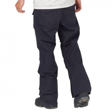 Analog Contract Snowboard Pant in True Black model back