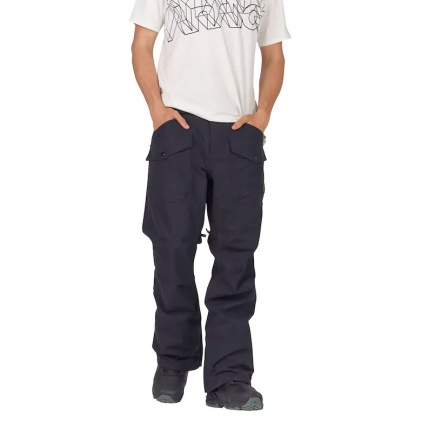 Analog Contract Snowboard Pant in True Black model front
