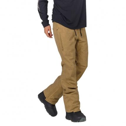 Analog Thatcher Slim Kelp Mens Snowboarding Pant model front side
