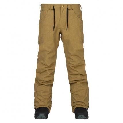 Analog Thatcher Slim Kelp Mens Snowboarding Pant front