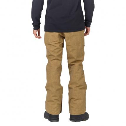 Analog Thatcher Slim Kelp Mens Snowboarding Pant model back