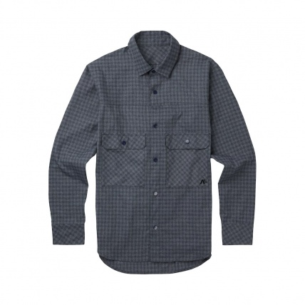 Analog ATF Operative Heathers Check Flannel Shirt front