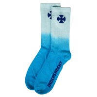 Independent - Light It Up Skateboard Socks in Blue