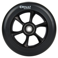 Chilli Pro Scooter - Turbo Wheel 110mm Black on Black