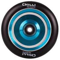 Chilli Pro Scooter - Coast Wheel Hollow 110mm Black and Blue