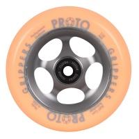 Proto - Gripper 110mm in Faded Orange Scooter Wheel