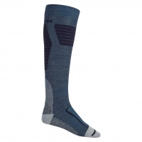 Burton - Ultralight Wool Sock in Mood Indigo Heather