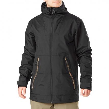Dakine Glenwood Snowboard Jacket in Black Field Camo front