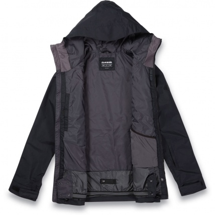 Dakine Glenwood Snowboard Jacket in Black Field Camo open