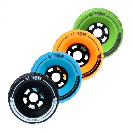 MBS All Terrain Longboard Wheels All Colours