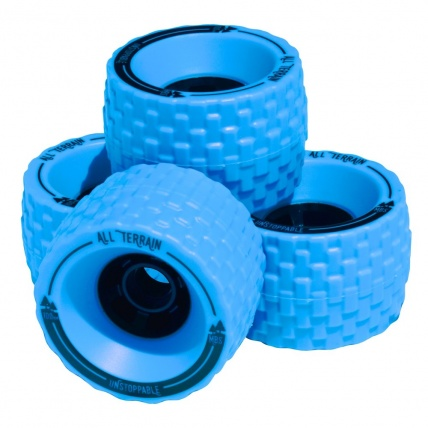 MBS All Terrain Longboard Wheels Blue