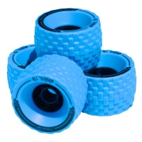 MBS - All Terrain Longboard Wheels Blue