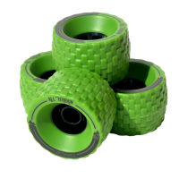 MBS - All Terrain Longboard Wheels Green
