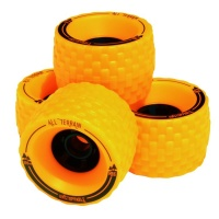 MBS - All Terrain Longboard Wheels Orange
