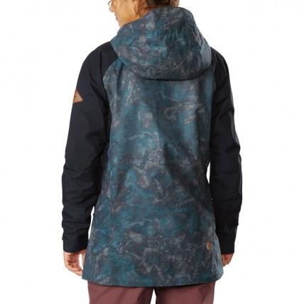Dakine Canyons II Womens Black Madison Snow Jacket back
