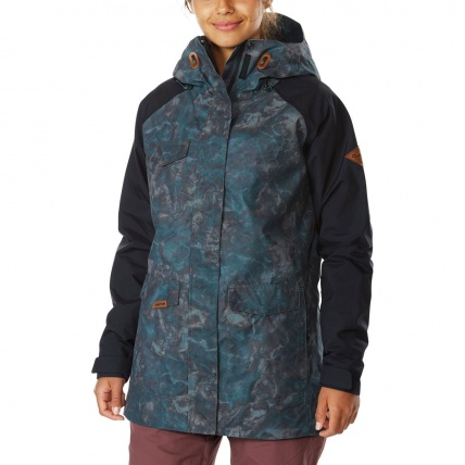 Dakine Canyons II Womens Black Madison Snow Jacket front