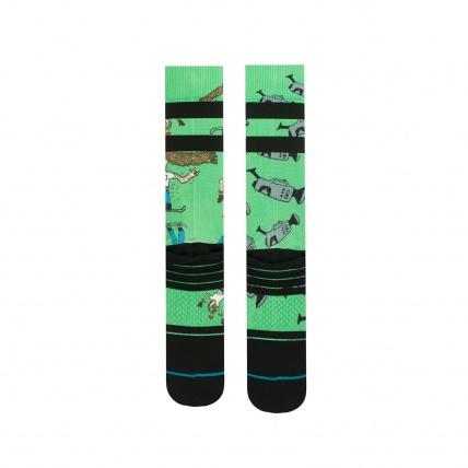 Stance Dad Cam Snowboard Socks bottom