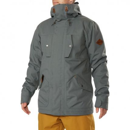 Dakine Garrison Balsam Green Snowboard Jacket model front