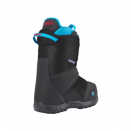 Burton Kids Zipline Boa Snowboard Boots in Black back