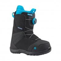 Burton - Kids Zipline Boa Snowboard Boots in Black