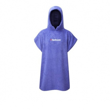 Northcore Childrens Poncho in Blue