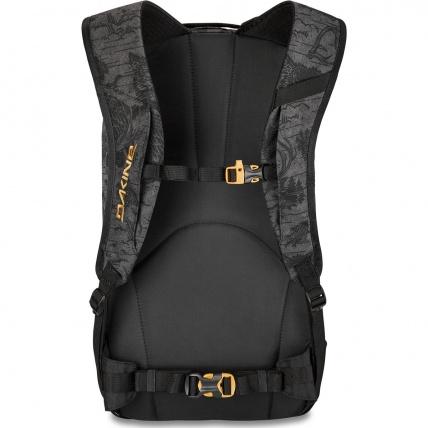 Dakine Heli 12 Watts Snow Backpack Rear