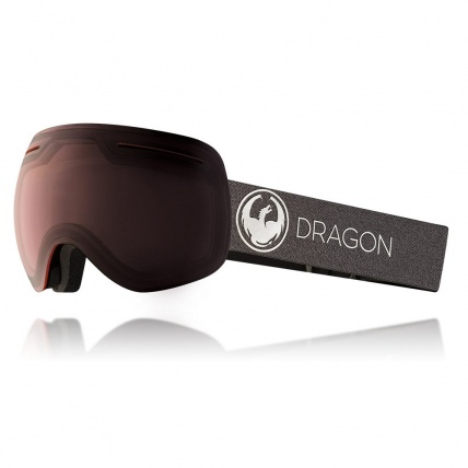 Dragon X1 Echo Transition Light Rose Snow Goggles