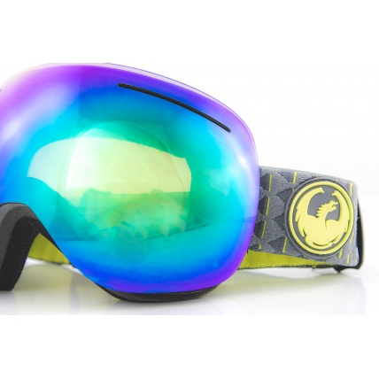 Dragon X1 Amp Lumalens Green Ion Snowboard Goggles