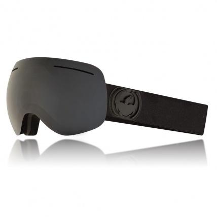 X1 Knightrider Dark Smoke 3 Lens Snow Goggles side