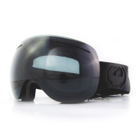 Dragon - X1 Knightrider Dark Smoke 3 Lens Snow Goggles